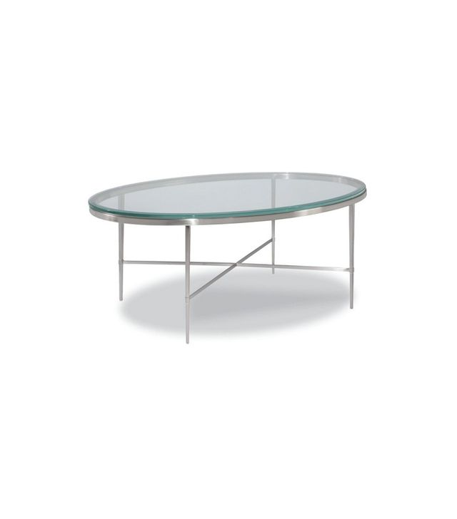 One Kings Lane Dubois Oval Coffee Table