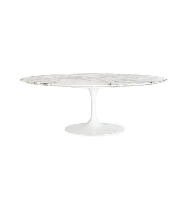 Eero Saarinen for Knoll Saarinen Low Oval Coffee Table