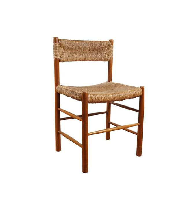 Vintage French Woven Dining Chai