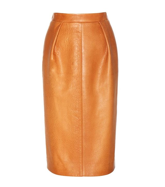 Miu Miu Leather Pencil Skirt