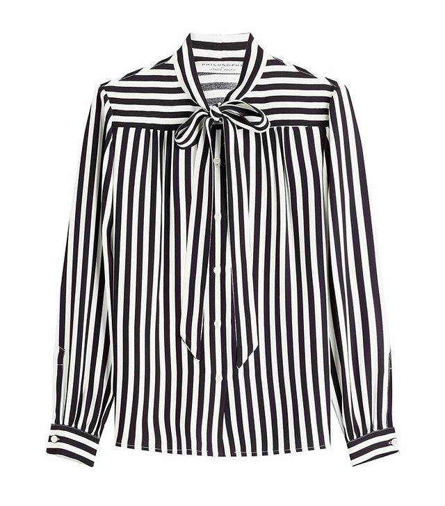 Philosophy di Lorenzo Serafini Striped Blouse