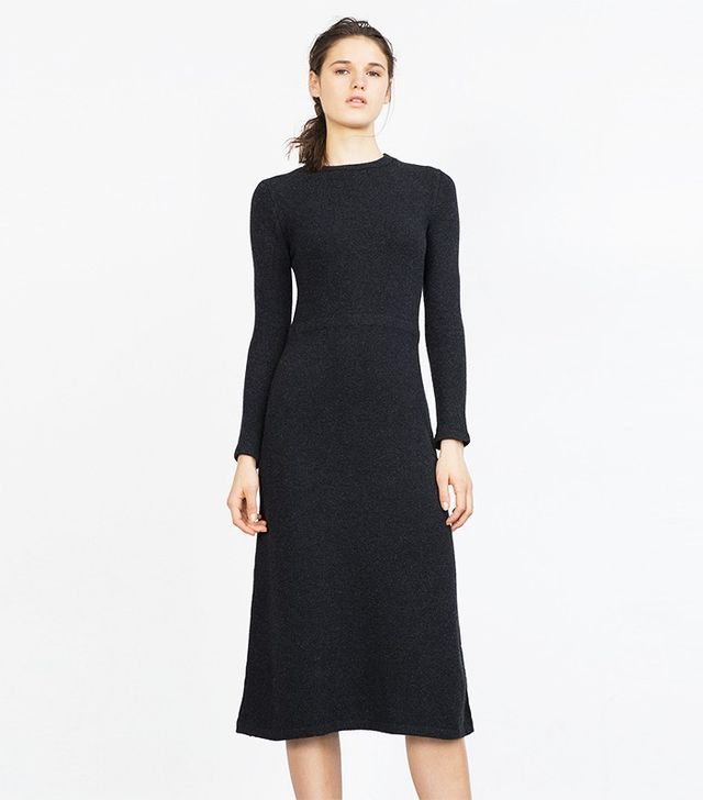 Zara Long Minimal Dress