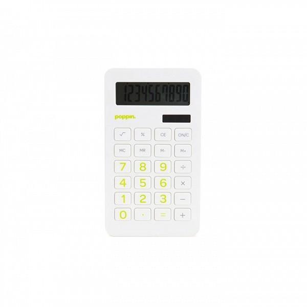 Poppin White Eco-Calculator