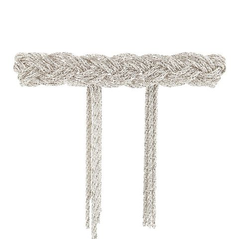 Miki Braided Silver-Plated Bracelet