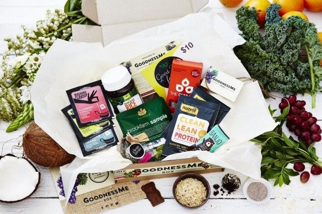 GoodnessMe Box Monthly Health Food Subscription