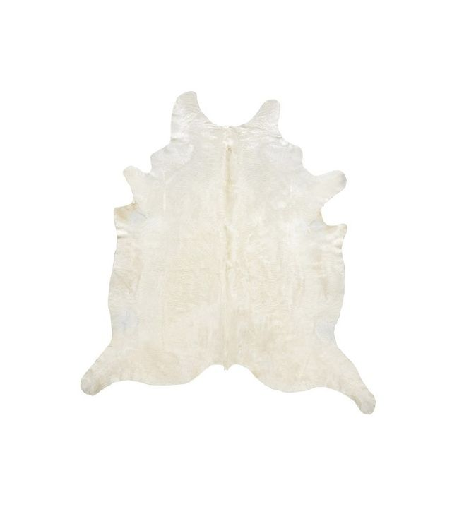Cowhide Imports Natural White Cowhide Rug