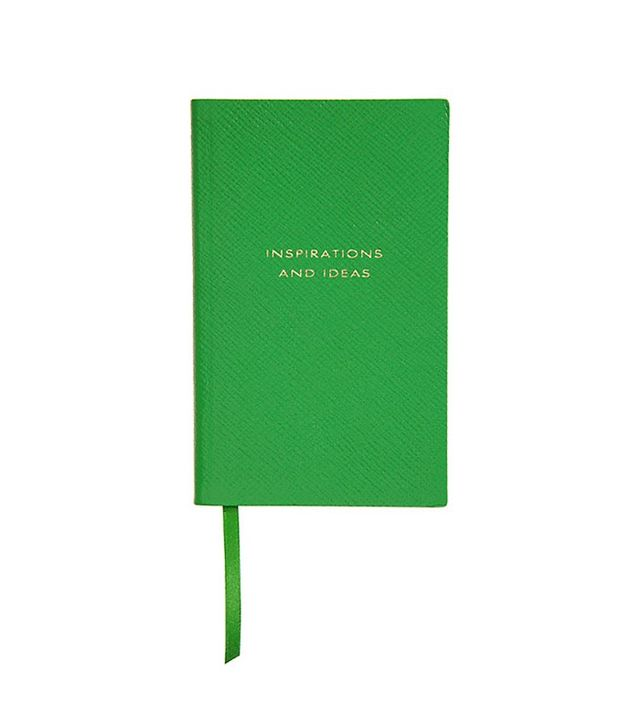 Smythson Inspirations and Ideas Notebook