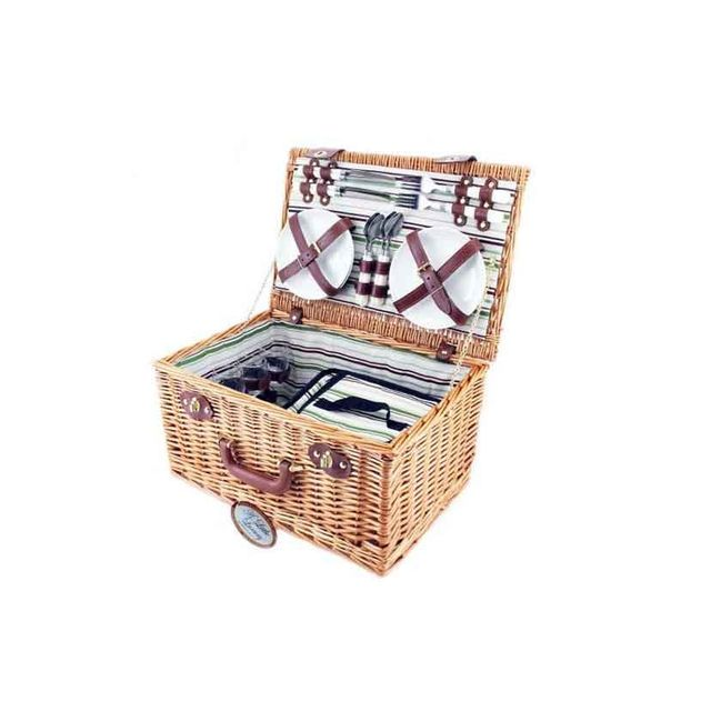 A Little Luxury Four Person Deluxe Picnic Basket
