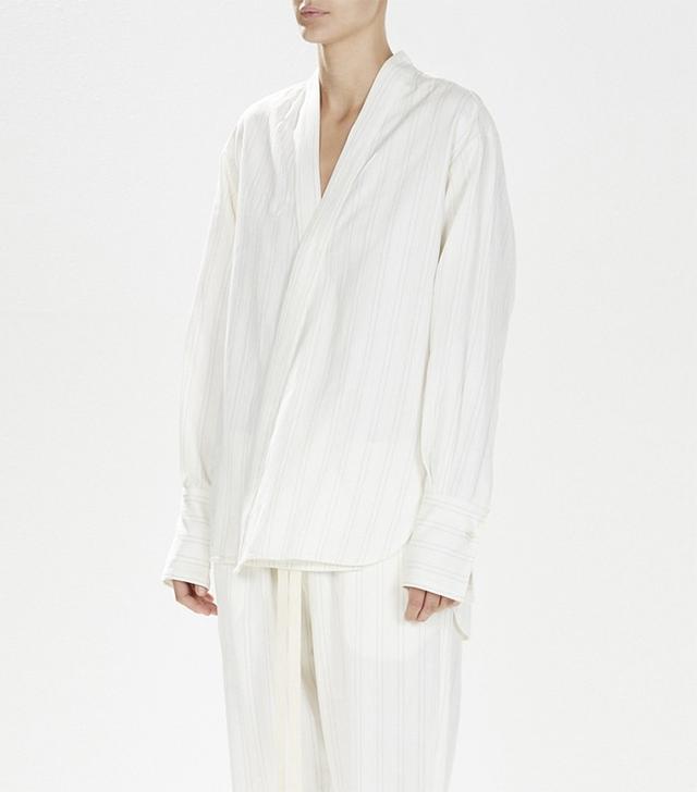 Bassike Jacquard Kimo Shirt