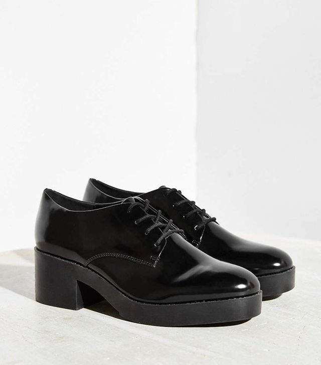 Silence + Noise Chunky Lace-Up Oxfords