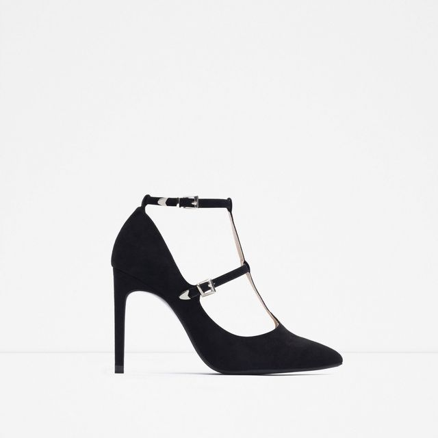 Zara High Heel Shoes with Ankle Straps
