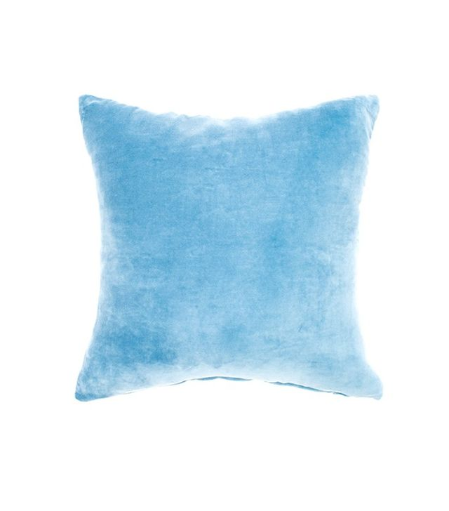 Jiti Home Ice Blue Velvet Pillow