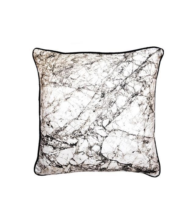 Ferm Living Marble Grey Pillow