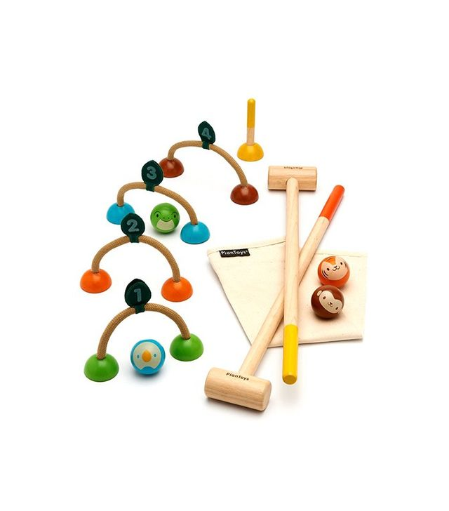 PlanToys Kids Croquet Set