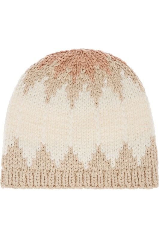 Chloé Snow Capsule Intarsia Wool Beanie