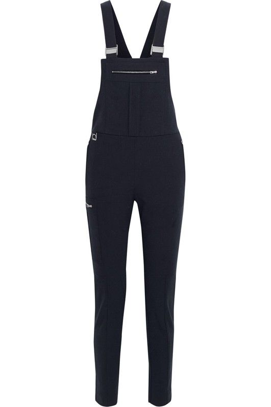 Chloé Snow Capsule Stretch-Wool and Cotton-Blend Twill Overalls