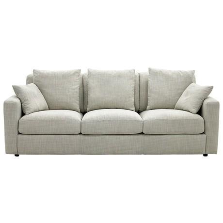 Freedom Benson 3 Seat Sofa in Arden Natural