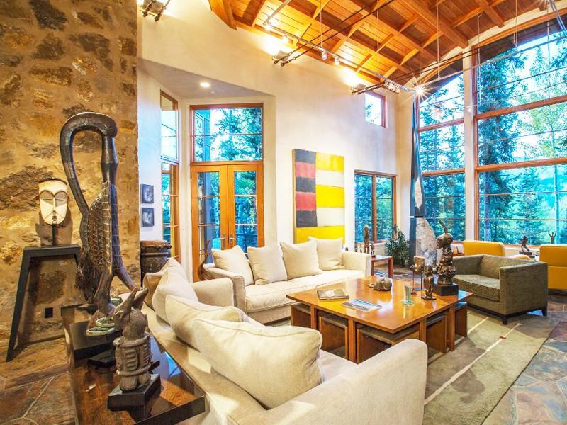 Step Inside Oprah Winfrey S Stunning 14 Million Usd Telluride