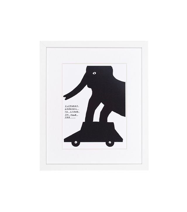 David Shrigley Untitled Framed Print
