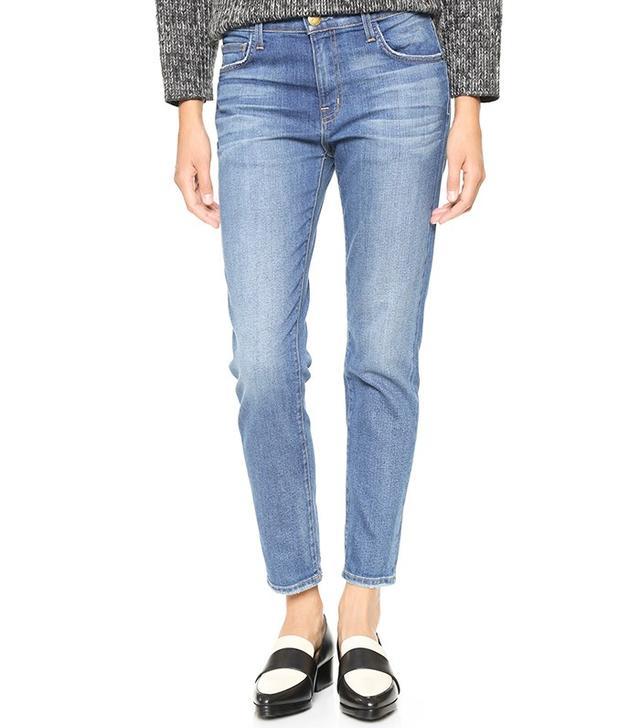 Current/Elliott The Principle Mid Rise Boyfriend Jeans