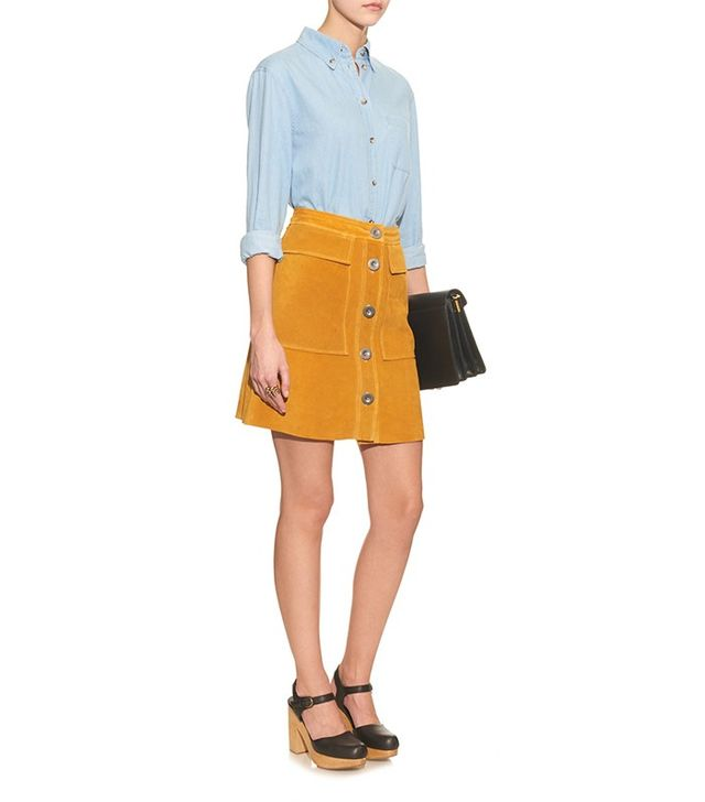 M.i.h. Jeans Damas Suede Skirt