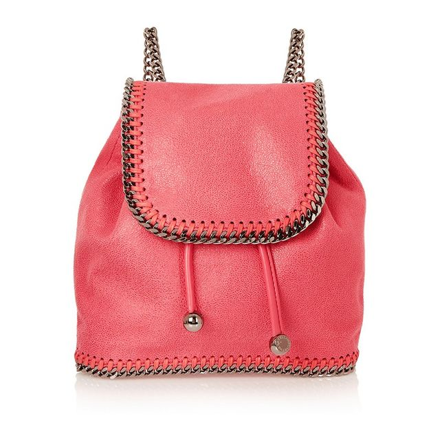 Stella McCartney The Falalabella Mini Faux Backpack