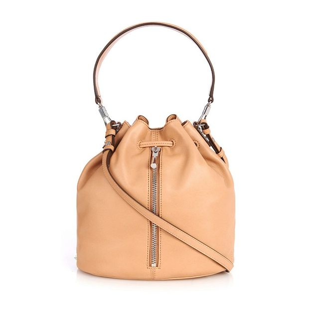 Elizabeth and James Cynnie Leather  Bucket Bag