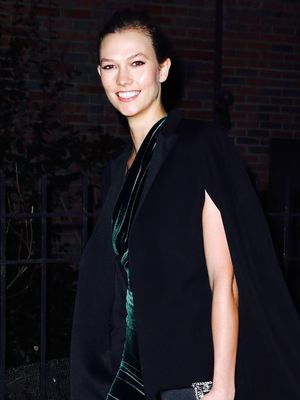 Karlie Kloss Makes a Case for Wearing Velvet