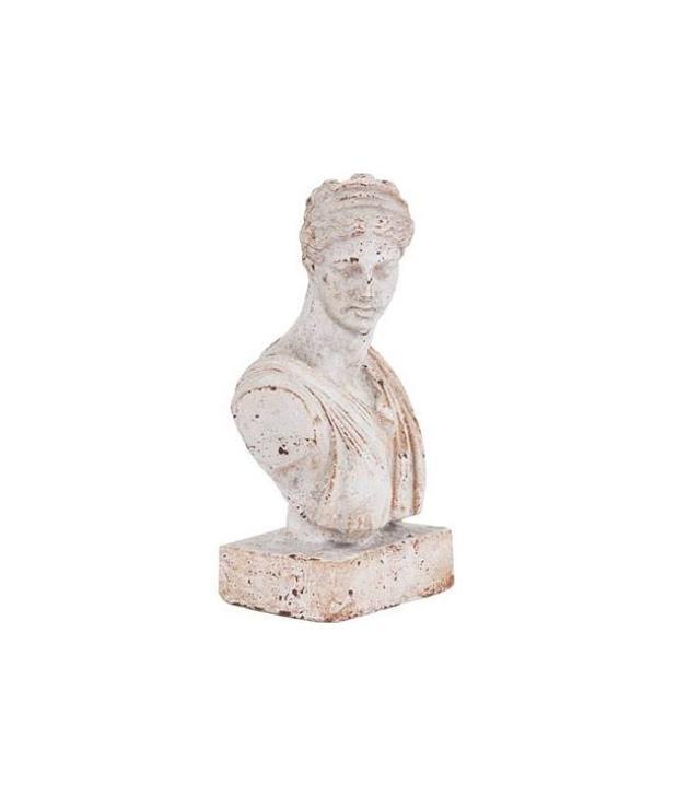 Howard Elliott Collection Ceramic Female Bust