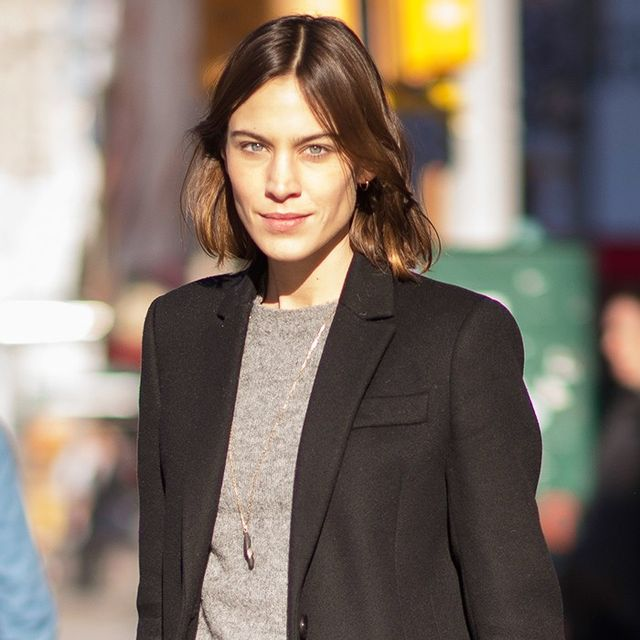 Alexa Chung's Outfit Formula Is All You'll Wear Over Holiday Break
