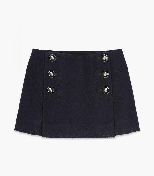 Sonia Rykiel Sailor Mini Skirt