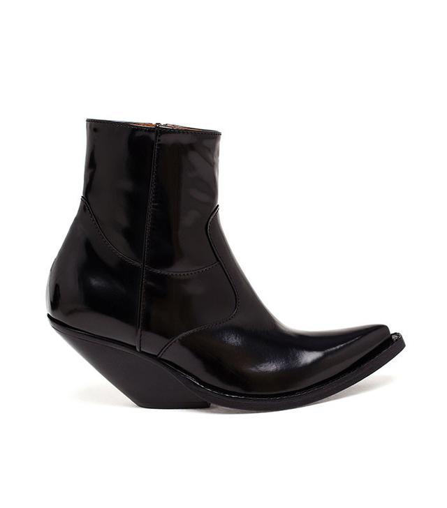 Vetements Cowboy Ankle Boots