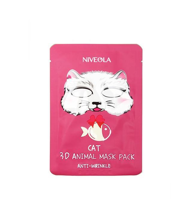 Niveola 3D Cat Mask Pack Set of 10