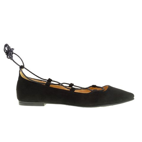 Endless Summer Lace Up Flat
