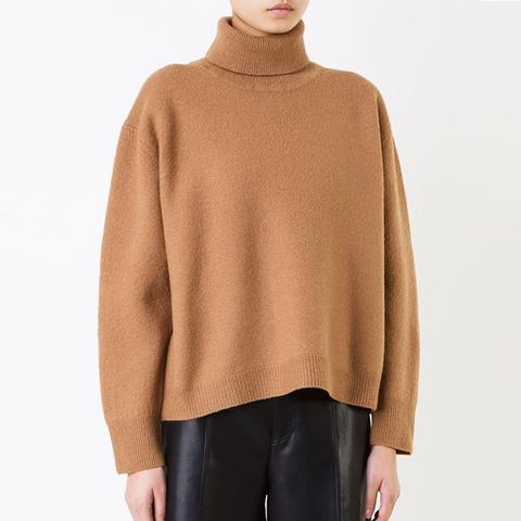 Backflare Turtleneck Sweater