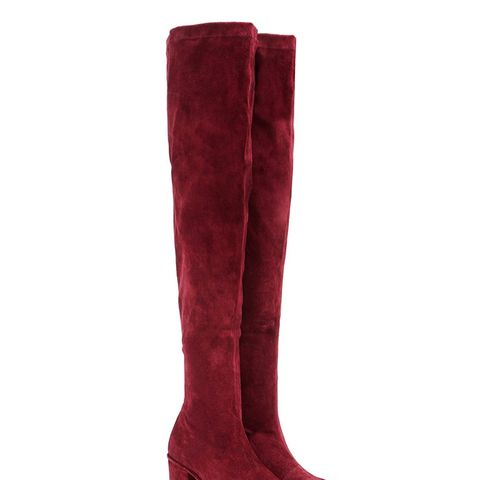 Marquee Suede Over-the-Knee Boots