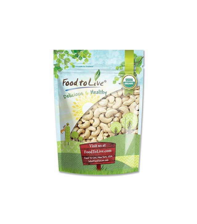 Food to Live Certified Organic Cashews
