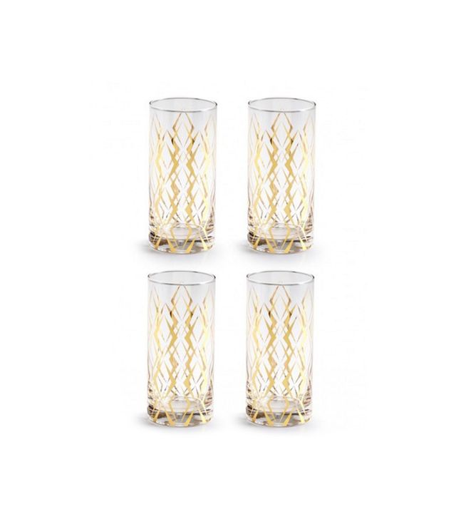 Lulu & Georgia Draper Highball Cocktail Glasses