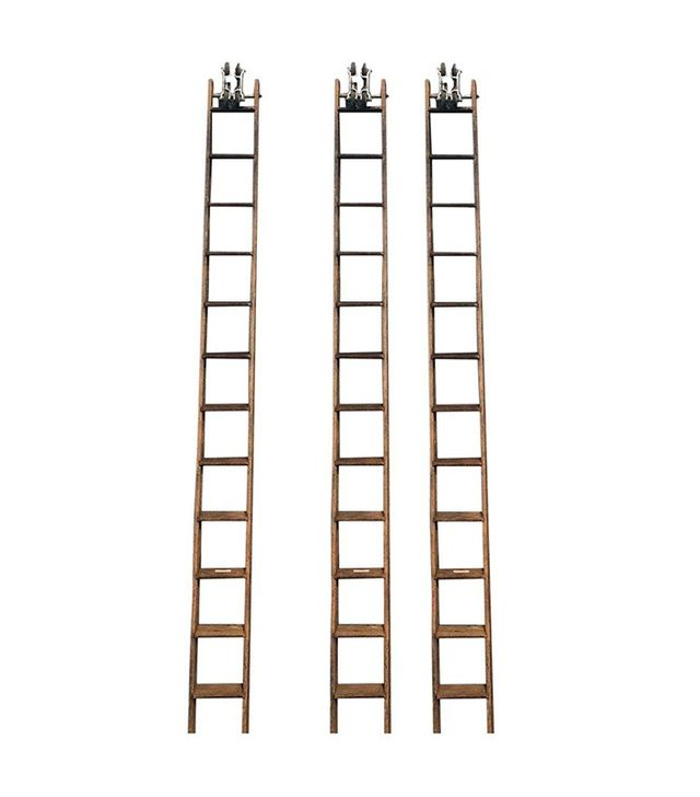Fe Meyers Co. 14' Tall Library Ladder