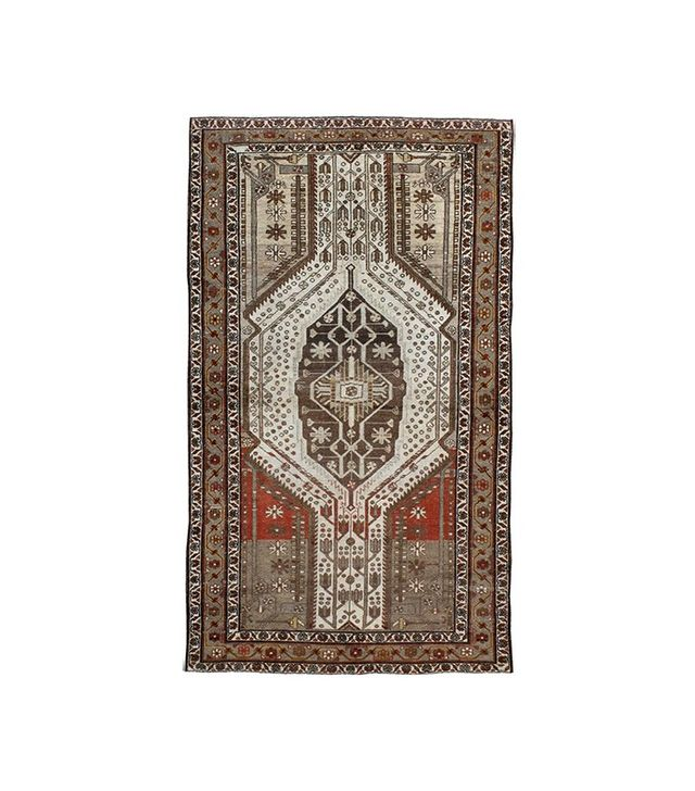 Vintage Antique Persian Malayer Rug