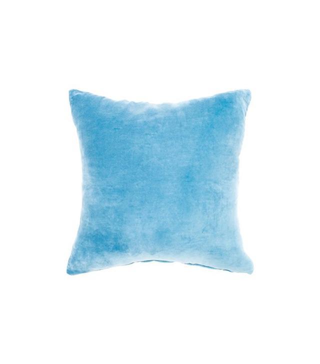 One Kings Lane Solid Velvet Pillow