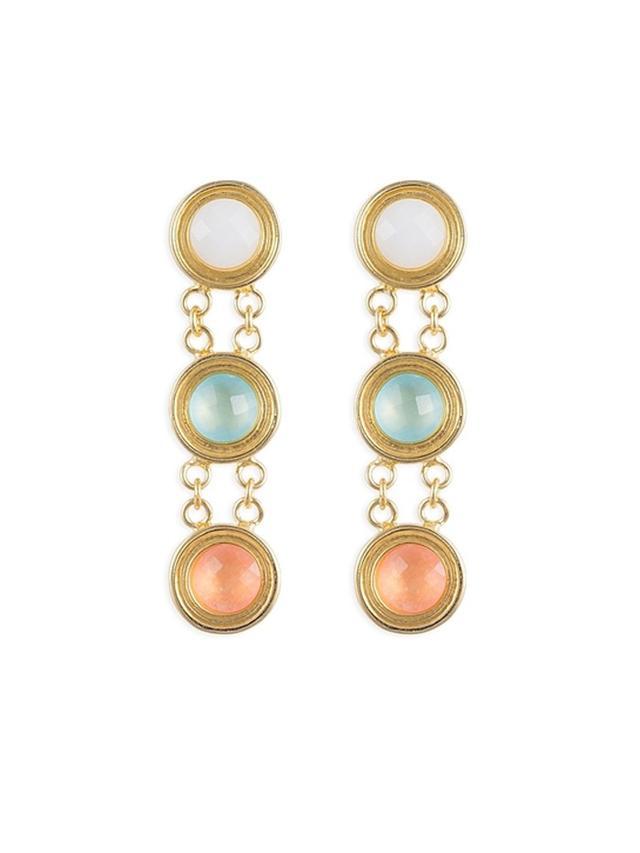 Ocie Leslie Small Triple Earrings