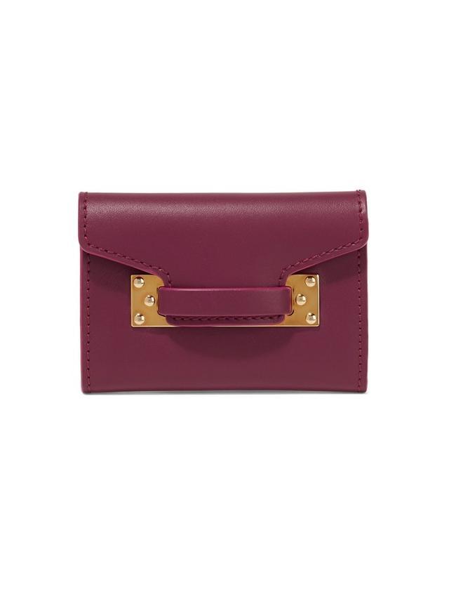 Sophie Hulme Leather Cardholder
