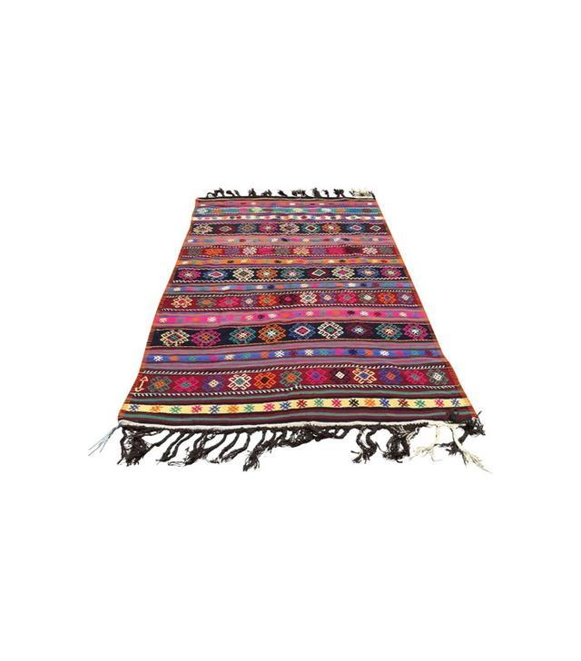 Chairish Vintage Turkish Kilim Rug