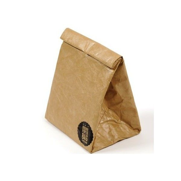 Biome Brown Paper Insulated Lunch Bag