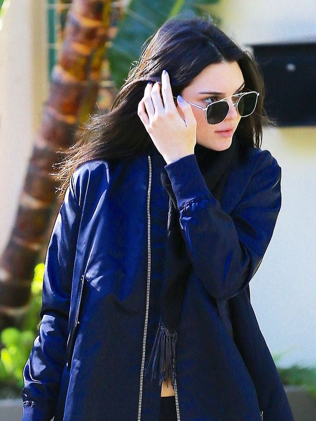 Did Kendall Jenner Just Wear the Newest Jacket Trend ...