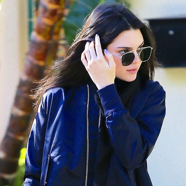 Did Kendall Jenner Just Wear the Newest Jacket Trend?