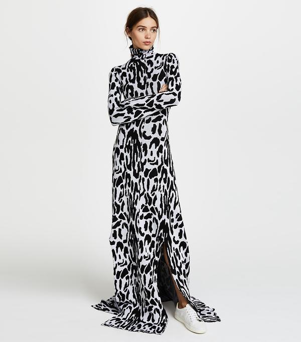Turtleneck Long Sleeve Dress