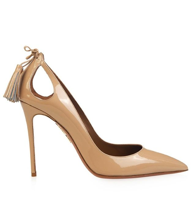 Aquazzura Forever Marilyn Patent-Leather Pumps