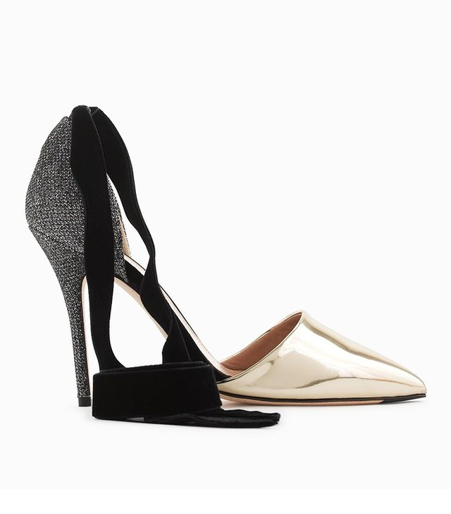 J.Crew Roxie Ankle-Tie Pumps